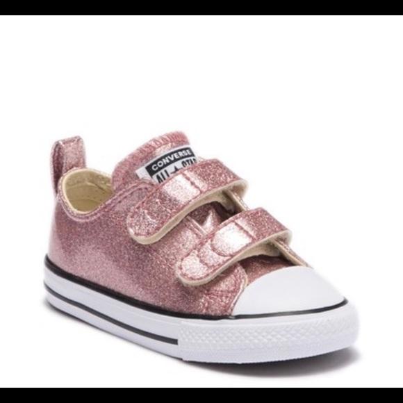 cb574afcd1ce Converse Shoes   Rose Gold Glitter   Poshmark